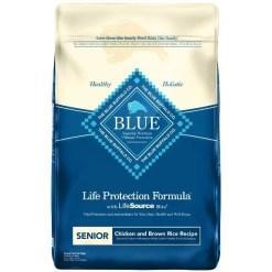 Blue Buffalo Life Protection Formula Senior Chicken & Brown Rice Recipe Dry Dog Food, 6-lb SKU 5961000015