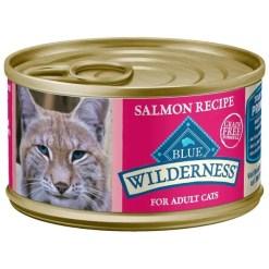 Blue Buffalo Wilderness Salmon Grain-Free Canned Cat Food SKU 5961000766