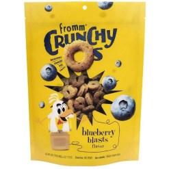 Fromm Crunchy O's Blueberry Blasts Flavor Dog Treats, 6-oz SKU 7270512140