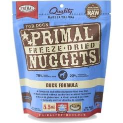 Primal Duck Formula Nuggets Grain-Free Raw Freeze-Dried Dog Food, 5.5-oz SKU 5033400436