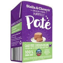 Stella & Chewy's Purrfect Pate Cage Free Chicken Recipe Wet Cat Food, 5.5-oz SKU 5230100832