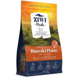 Ziwi Peak Hauraki Plains Grain-Free Air-Dried Dog Food, 4-lb. SKU 9421016597598.