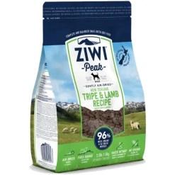 Ziwi Peak Tripe & Lamb Grain-Free Air-Dried Dog Food, 2.2-lb SKU 9421016594023