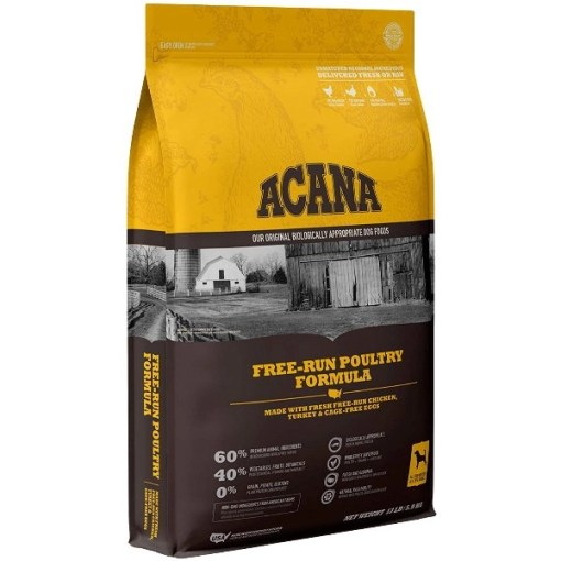 ACANA Free-Run Poultry Recipe Dry Dog Food, 13-lb SKU 6499250113