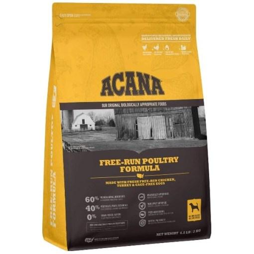 ACANA Free-Run Poultry Recipe Dry Dog Food, 4.5-lb SKU 6499250145