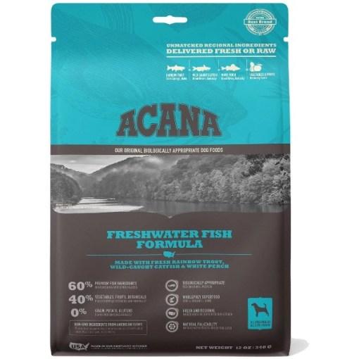 ACANA Freshwater Fish Formula Dry Dog Food, 12-oz SKU 6499250212