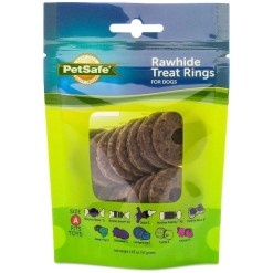 Busy Buddy Natural Rawhide Rings Dog Treats, Size A SKU 5902308489