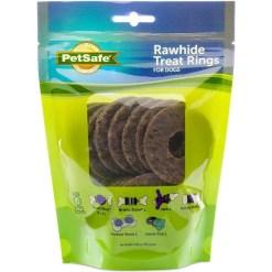 Busy Buddy Natural Rawhide Rings Dog Treats, Size C SKU 5902308491