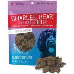 Charlee Bear Bearnola Bites Blueberry Pie Flavor Dog Treats, 8-oz SKU 8710800690