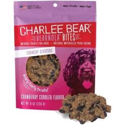 Charlee Bear Bearnola Bites Cranberry Cobbler Flavor Dog Treats, 8-oz SKU 8710800692