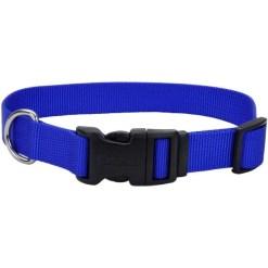 Coastal Adjustable Dog Collar with Plastic Buckle, Blue, 14 in SKU 7648404602