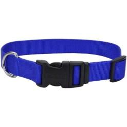 Coastal Adjustable Dog Collar with Plastic Buckle, Blue, 20 in. SKU 7648404702