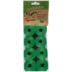 Five Star Pet Waste Bags, Green, 120 Count 5791000148