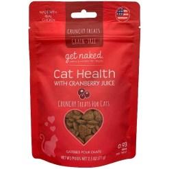 Get Naked Urinary Health Grain-Free Crunchy Cat Treats, 2.5-oz SKU 5754670115