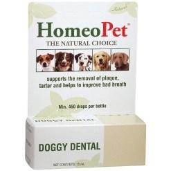 HomeoPet Doggy Dental Dog Supplement, 15-mL SKU 0495914749