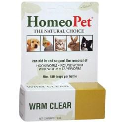HomeoPet WRM Clear Pet Supplement, 15-mL SKU 0495914714