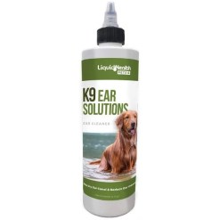 Liquid Health Pets K9 Ear Solutions Dog Ear Cleaner, 12-oz SKU 6546290012