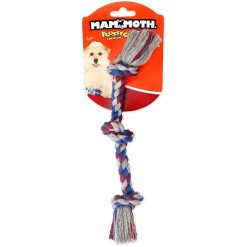 Mammoth Cottonblend 3 Knot Dog Rope Toy, Mini, Color Varies SKU 4677220068
