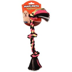 Mammoth Cottonblend 3 Knot Dog Rope Toy, Small, Color Varies SKU 4677220010