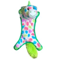 Multipet Ball-Head Unicorns Dog Toy, 10'', Assorted Colors SKU 8436943269