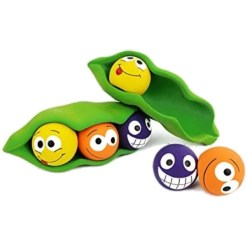 Multipet Peas in a Pod Squeaky Balls Dog Toy