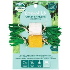 Oxbow Enriched Life Crazy Shakers Small Animal Chew Toy SKU 4484596309