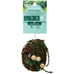 Oxbow Enriched Life Deluxe Vine Ball Small Animal Chew Toy SKU 4484596308