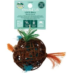 Oxbow Enriched Life Loco Ball Small Animal Toy SKU 4484596329