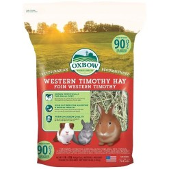 Oxbow Western Timothy Hay Small Animal Food, 90-oz SKU 4484540229