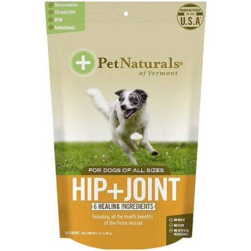 Pet Naturals Hip + Joint Dog Chews, 60 count SKU 2666400345