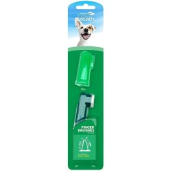 TropiClean Fresh Breath Finger Toothbrushes, 2 Count SKU 4509500218