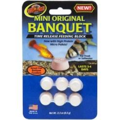 Zoo Med Original Banquet Time Release Fish Feeding Block, Mini SKU 9761211300