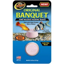 Zoo Med Original Banquet Time Release Fish Feeding Block