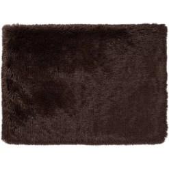Best Friends by Sheri Throw Shag Dog & Cat Blanket, Dark Chocolate SKU 1740302579