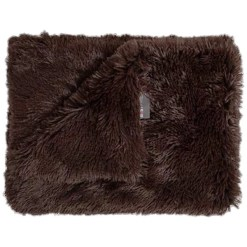 Best Friends by Sheri Throw Shag Dog & Cat Blanket, Dark Chocolate SKU 1740302654