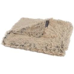 Best Friends by Sheri Throw Shag Dog & Cat Blanket, Taupe SKU 1740302498