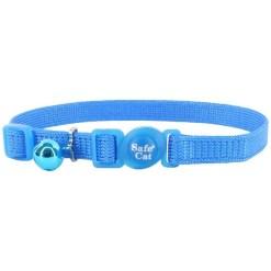 Coastal Safe Cat Adjustable Snag-Proof Breakaway Collar, Blue Lagoon SKU 7648472425
