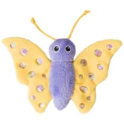 Ethical Pet Shimmer Glimmer Butterfly with Catnip Cat Toy, Color Varies SKU 7723452077