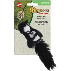 Ethical Pet Skinneeez Forest Creature Cat Toy with Catnip, Character Varies SKU 7723402680