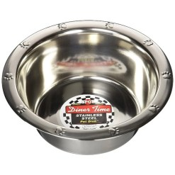 Ethical Pet Stainless Steel Embossed Bowl, 1-qt SKU 7723406241
