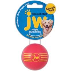JW iSqeak Ball Dog Toy, Color Varies, Medium SKU 1894043031