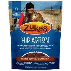 Zuke's Hip & Joint Peanut Butter & Oats Recipe Dog Treats, 6-oz SKU 1342321052