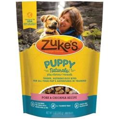 Zuke's Puppy Naturals Pork & Chickpea Recipe Grain-Free Dog Treats, 5-oz SKU 1342333085