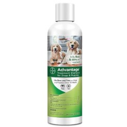 Advantage Flea & Tick Treatment Shampoo for Dogs & Puppies, 8-oz SKU 2408979214