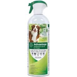 Advantage Topical & Indoor Flea & Tick Spray for Dogs, 15-oz SKU 2408911347