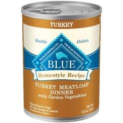 Blue Buffalo Homestyle Recipe Turkey Meatloaf Dinner Canned Dog Food, 12.5-oz SKU 4024310496