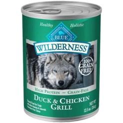 Blue Buffalo Wilderness Duck & Chicken Grill Grain-Free Canned Dog Food, 12.5-oz SKU 4024310486