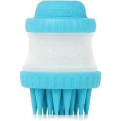 Dexas Pets ScrubBuster Silicone Dog Washing Brush, Blue SKU 8429730941