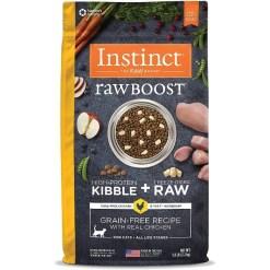 Instinct Raw Boost Grain-Free Chicken & Freeze-Dried Raw Coated Recipe Dry Cat Food, 5-lb Bag SKU 6994965862