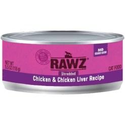 RAWZ 96% Chicken & Chicken Liver Pate Canned Cat Food, 5.5-oz SKU 5853100575